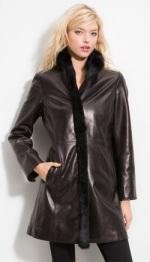 Пальто Кожаное Женское Купить
