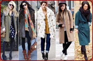 стиль молодёжных пальто