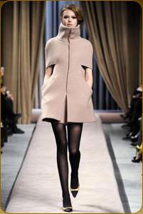 Модное пальто кейп