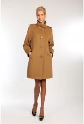 Стеганое демисезонное пальто для