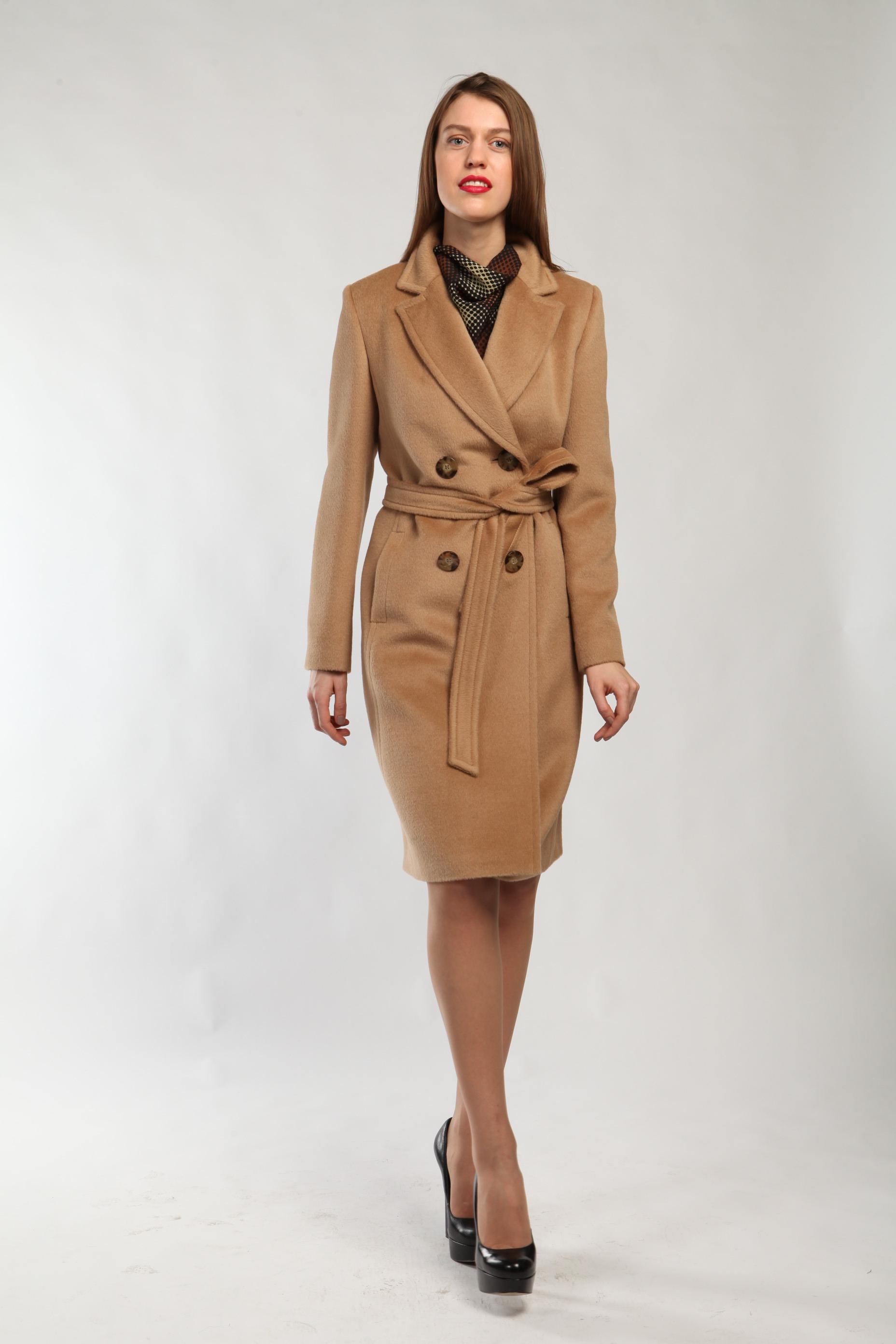 24bbcd9a6d3 Женское бежевое пальто  где купить