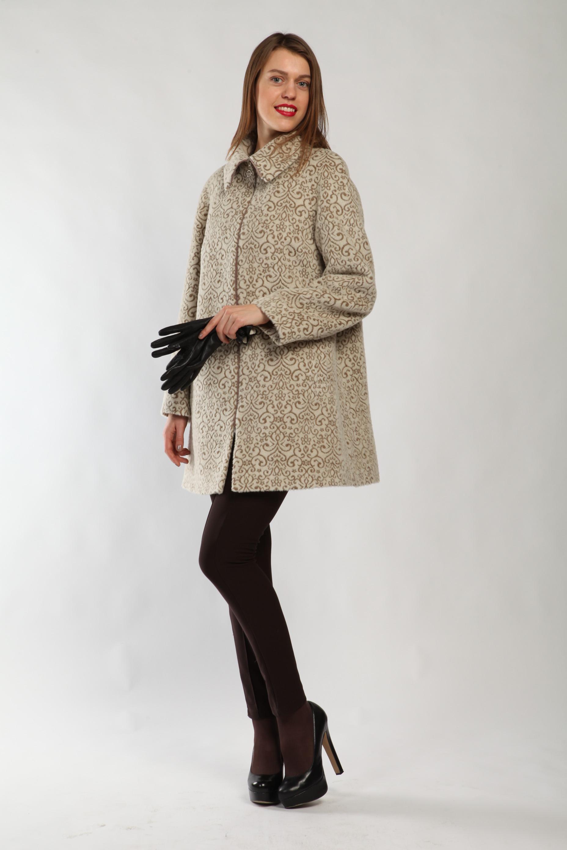 Женское пальто на верблюжьей шерсти О-321 - купить в Москве ca913a259bb44