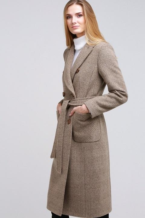 245dc5adeda Женское демисезонное пальто О-822 - купить по выгодной цене в Москве