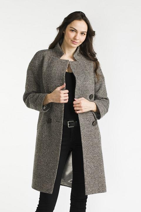 f3f63c40a31 Пальто женское демисезонное О-909 - средней длины