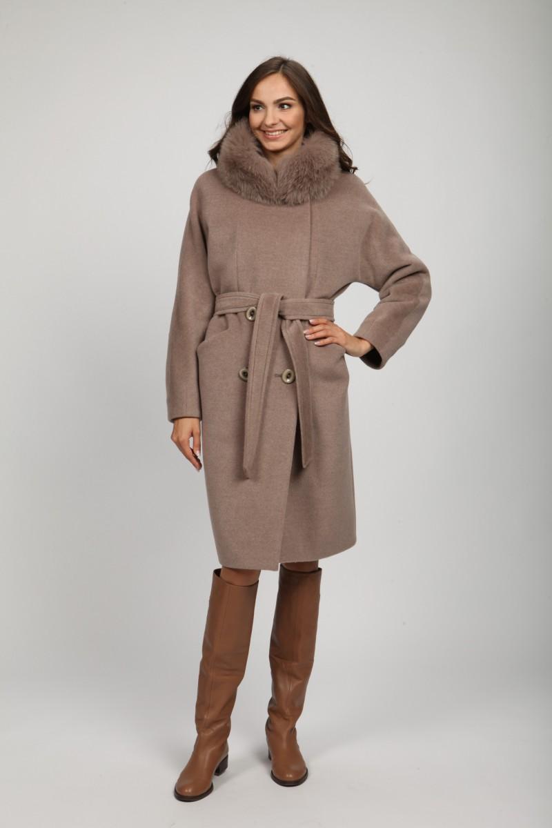 Женское зимнее пальто с мехом О-785 - купить по выгодной цене в Москве fb3fe7f59963f
