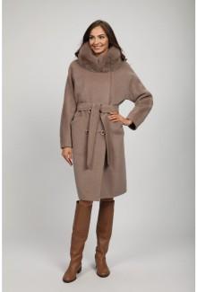 8d38c418b01 Женское зимнее пальто с мехом О-785 - купить по выгодной цене в Москве