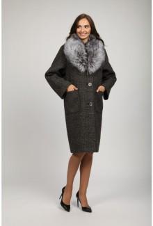 Женское зимнее пальто О-835 - средней длины 7ac5b77b60f2e