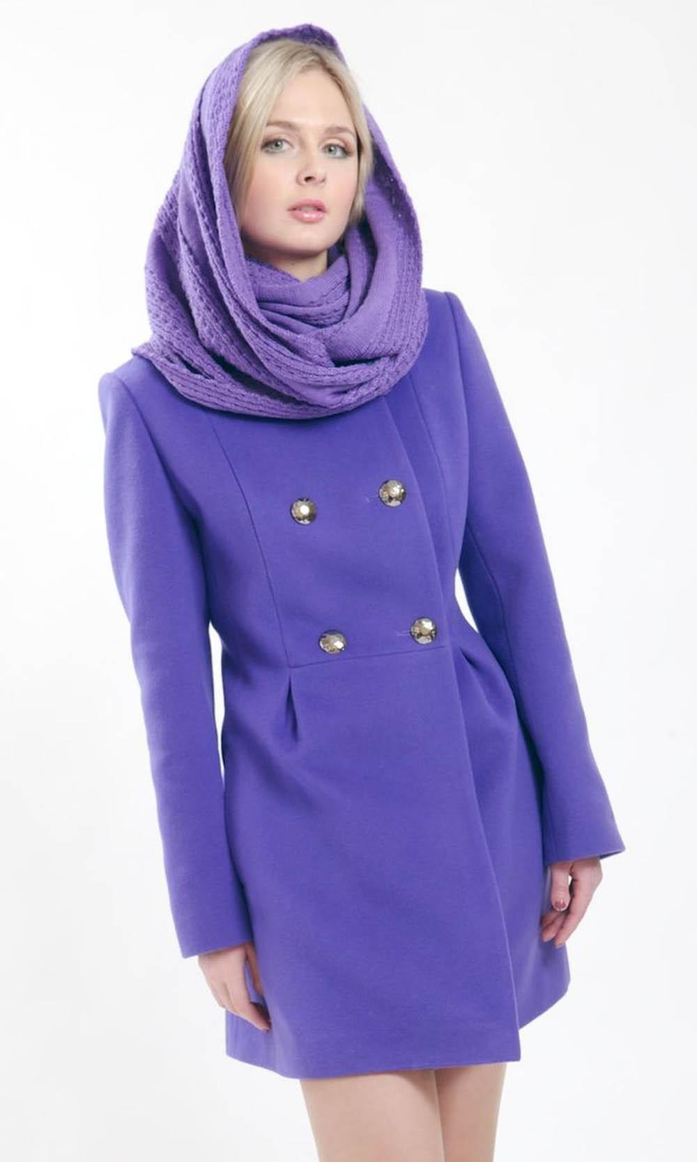 Какие шарфы подходят к пальто