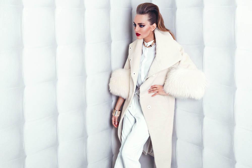 пальто из шерсти альпаки