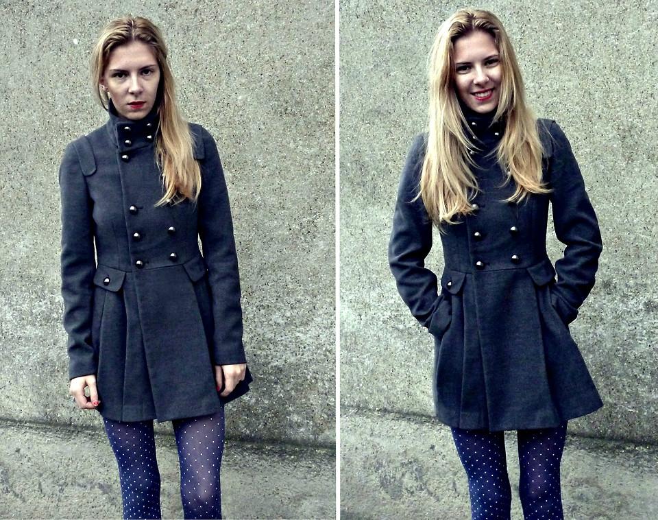 Традиционные застежки в пальто