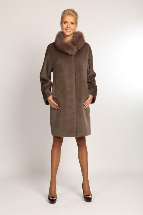 Зимнее пальто модель пальто о 697